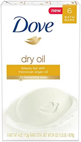 Bar Soap: Dove Beauty Bar Dry Oil