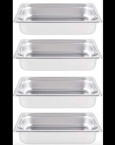 Dish Insert Chafing (INSERTS ONLY 4 PACK 2 1/2