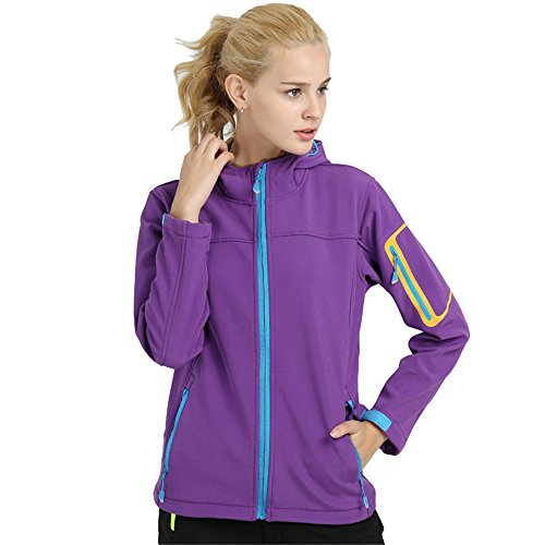 Uglyfrog Sport & Outdoor Womens Warm Softshell Jackets Cycling Clothing Waterproof Breathable Windproof Cycling Jacket…