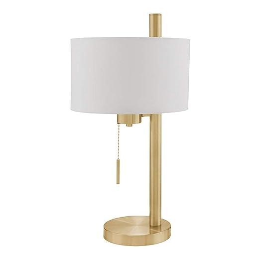 WPCBAA Tire el Interruptor LED lámpara de Mesa de Hierro E27 ...