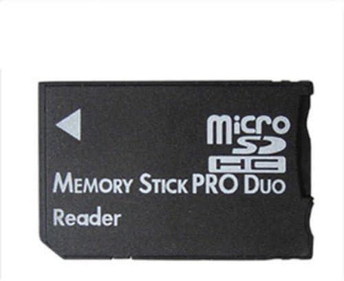 Sony//Sandisk Memory Stick Duo ADATTATORE READER WRITER per MS Duo /& Pro Duo