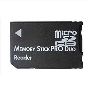 Adaptador Micro SD SDHC TF Tarjeta de Memoria MS Pro Duo ...