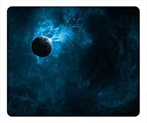 Black Hole Design Rectangle Mouse Pad Smog by mcsharks