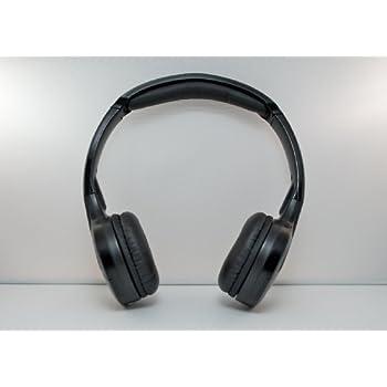 Honda Odyssey Wireless DVD Headphones Kids Headset (Black)