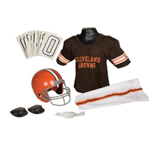 NFL Cleveland Browns Deluxe Youth Uniform Set