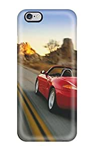 Iphone 6 Plus EaZyW8853wHFce Porsche Boxster Tpu Silicone Gel Case Cover. Fits Iphone 6 Plus
