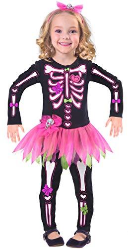 Comprar Fancy Bones Disfraz de Esqueleto de Halloween para niñas