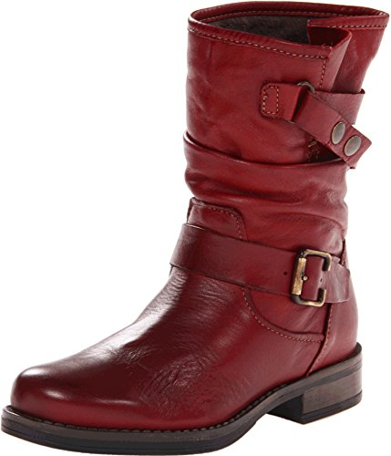 Red Motorcycle Boots - 5