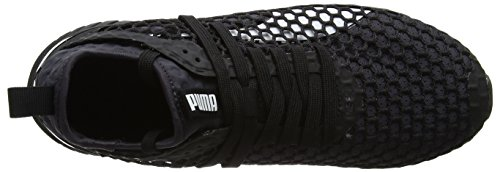 Puma Ignite Dual Netfit, Scarpe Sportive Outdoor Uomo Nero (Black-quiet Shade)