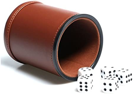 Leather Lining Shaker Farkle Yahtzee
