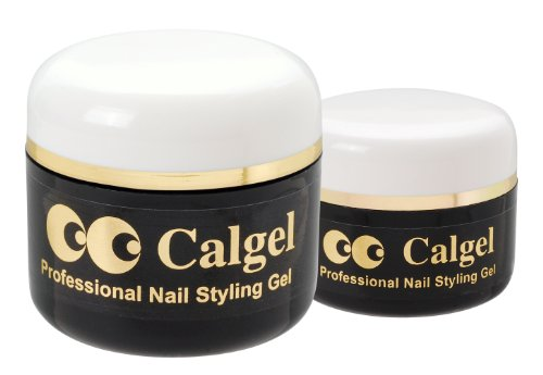 Calgel Natural Clear 25g (0.88 oz) - World's most renowned base gel by Calgel