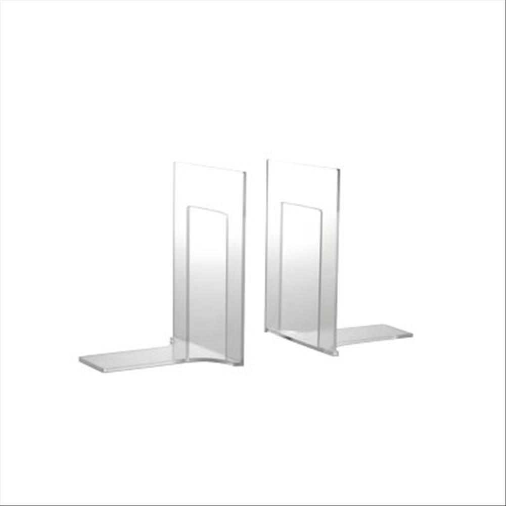 Confezione 2 Trasparente Tecnostyl ACR003 Reggilibri Acrylic