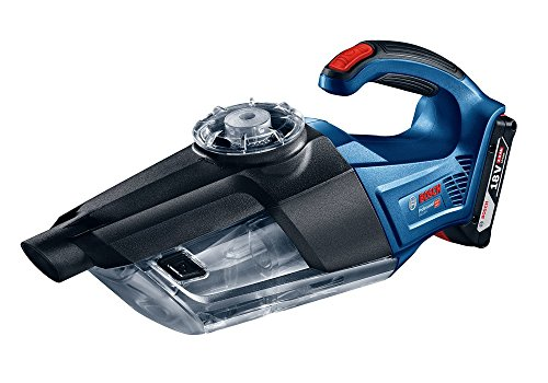 (Bosch GAS 18V-1 Professional Cordless Vacuum Cleaner / Cleaning Performance Redefined! With new rotational airflow technology ( Bare Tool Body Only))