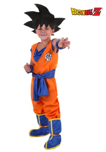Little Boys' Goku Costume 4T (Goku Super Saiyan Costume)