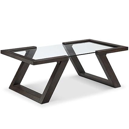 Amazon.com: Magnussen Visby Rectangular Coffee Table In Espresso Finish:  Kitchen U0026 Dining