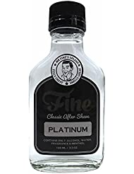 Fine Classic After Shave, Platinum, 3.3 Ounce / 100...