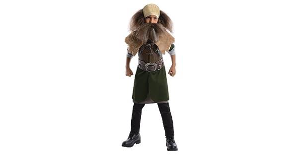 Amazon.com: El Hobbit Deluxe disfraz de Dwalin, S, Un solo ...