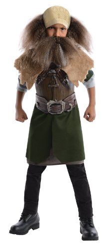 The Hobbit, Deluxe Dwalin Costume - Medium (Dwarf Costume Hobbit)