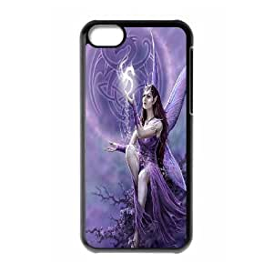 High Quality {YUXUAN-LARA CASE}Love Angels For Iphone 5c STYLE-15