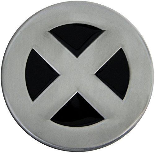 Wolverine Belt Buckle (X Men Pewter Metal Belt Buckle)