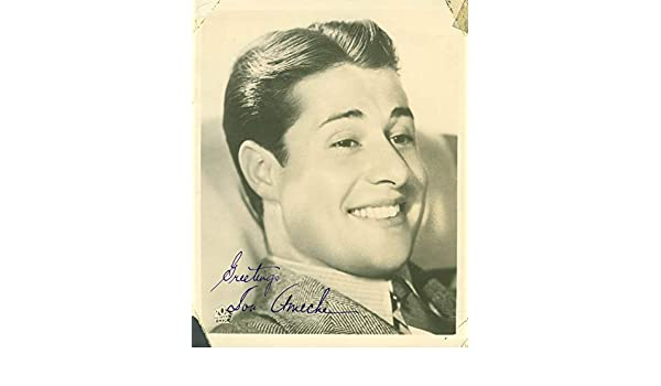 Don Ameche - Photograph Signed...