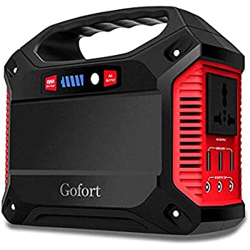 Amazon Com Gofort Portable Power Solar Generator Power