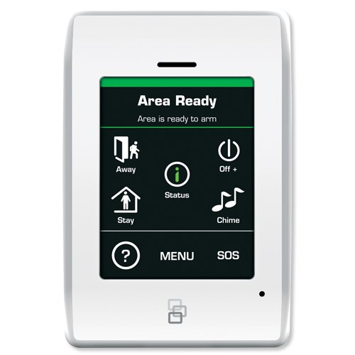 Interlogix NX-1820E NetworX Touch Screen Keypad, 3.5