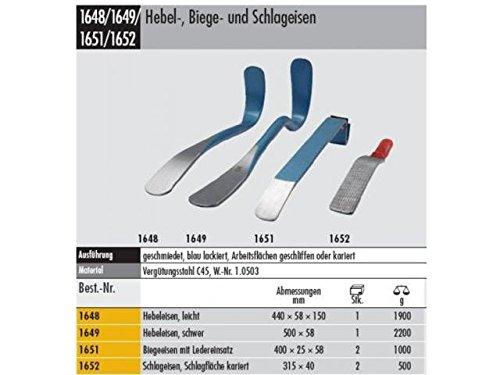 Elora 1648000000000 Bending Iron in silver/blue