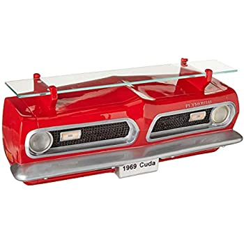 Sunbelt Gifts 1969 Plymouth Barracuda Front Wall Shelf W/Lights, Multi