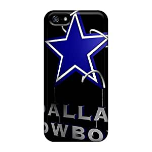Elaney Fashion Protective Dallas Cowboys Case Cover For Iphone 5/5s