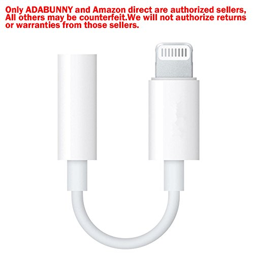 Lightning Headphone ADABUNNY Connector Earphone