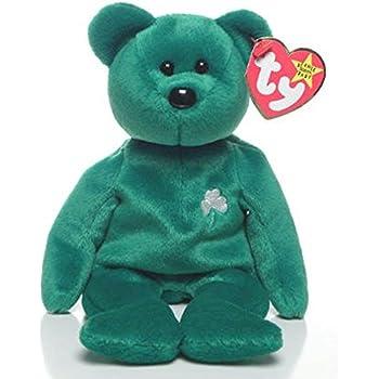 6076fa9ee11 Amazon.com  Ty Beanie Babies Erin - Irish Bear  Toys   Games