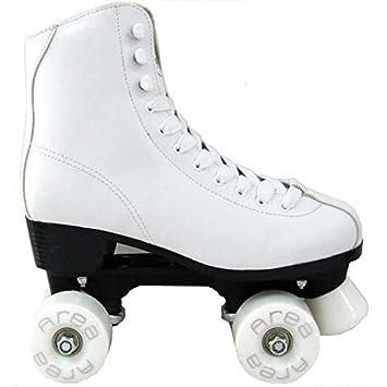 Patines para patinaje artístico QUAD Blanco F4QUAD: Amazon.es: Deportes y aire libre