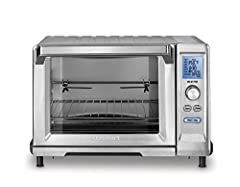 A dozen different ways to cook and space enough to Rotisserie roast a 4-pound chicken makes Cuisinart Rotisserie convection toaster oven in demand for every kitchen. 1875 watts of power heats the unit quickly and ensures precise cooking. Gene...
