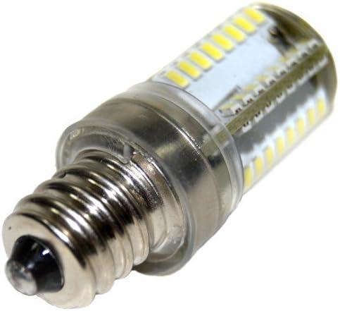 VX880 VX1200 VX890 VX1125 VX1120 VX1140 VX-1435 Sewing Machine Plus HQRP Coaster HQRP 2-Pack 7//16 110V LED Light Bulbs Cool White for Brother VX857 VX1100