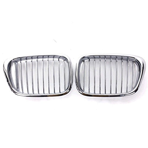 85%OFF E39 Grill Chrome Front Kidney ABS Plastic Grille