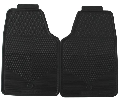 Highland 4602500 All-Weather Black Front Seat Floor Mat