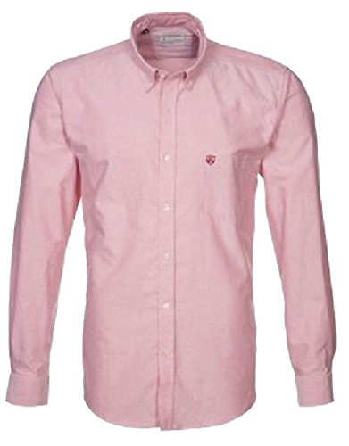 Selected Solid schlanke Passform Shirt Rosa