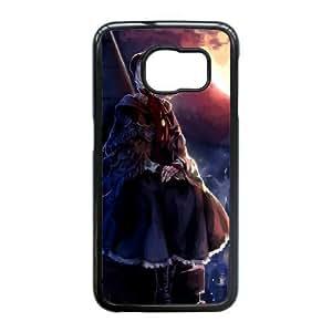 Samsung Galaxy Note5 Edge/S6 Edge Plus funda Negro [PC dura del caso + HD Pattern] transmitidos por la sangre Hunter Luna Serie llana Doll® [Numeración: JJJJDHKOS6197]