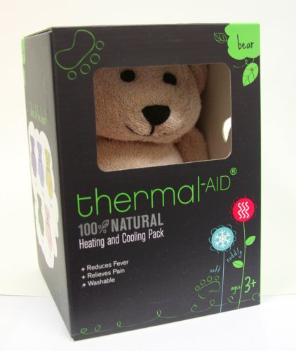 Thermal Aid 100% Natural Heating and Cooling Pack Pink Bear