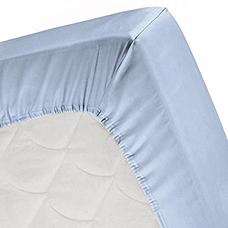 Luxurious Collections 1000 Thread Count Twin XL, Taupe Solid 100/% Egyptian Cotton Elegant Comfortable 1 PC Fitted Sheet COMIN18JU019451 Bottom Sheet Only Extra Long Fit Upto 15 inches Deep Pocket
