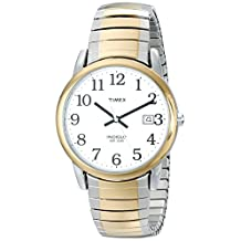 Timex Men's T2H311 Easy Reader Two-Tone Expansion Band Watch