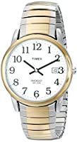 Timex Men's T2H311 Easy Reader Two-Tone Stainless Steel Expansion Band Watch