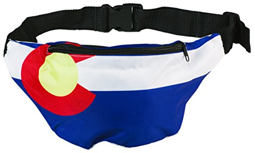Funny Guy Mugs Colorado Flag Fanny Pack]()