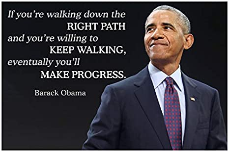 Barack Obama Quote Classroom Poster Black History Month Posters School  Motivational Inspirational Wall Art Teacher Supplies Learning Teaching  Positive