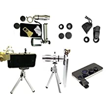 SENHAI 12x Zoom Aluminum Telephone Telescopic Optical Lens Kit for iPhone 6 6 Plus iPhone 5 / 5S / 5C & Samsung Galaxy S5 S4 S3 Note 4 Note 3 Note 2 & HTC BlackBerry Nexus LG Motorola etc. ¡­