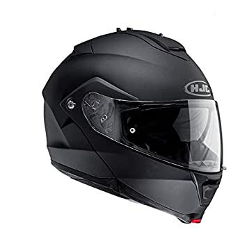 Casco abatible HJC Is-Max II, de color negro