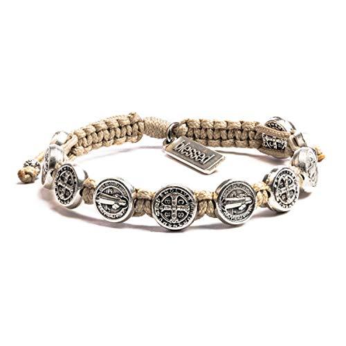 My Saint My Hero Benedictine Blessing Bracelet -