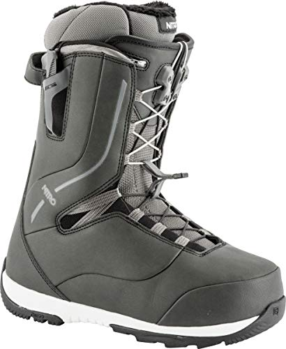 Nitro Crown TLS Snowboard Boot (Black, 7.5) - Women's
