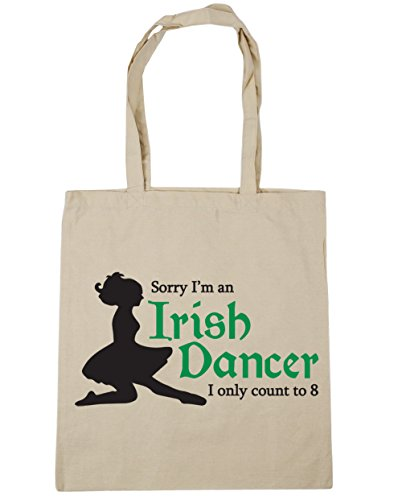 42cm Can I'm Count Gym Beach Sorry x38cm I Tote Dancer Irish to HippoWarehouse Only Natural Eight an Bag litres 10 Shopping cYn15wa56q
